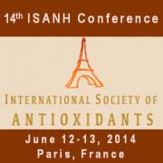 A record of participation for the 14th edition of ISANH Antioxidants Congress 2014